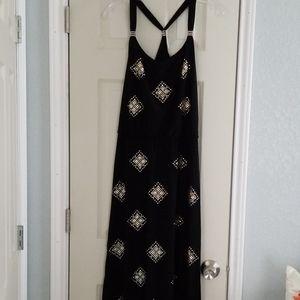 White house/black market halter dress